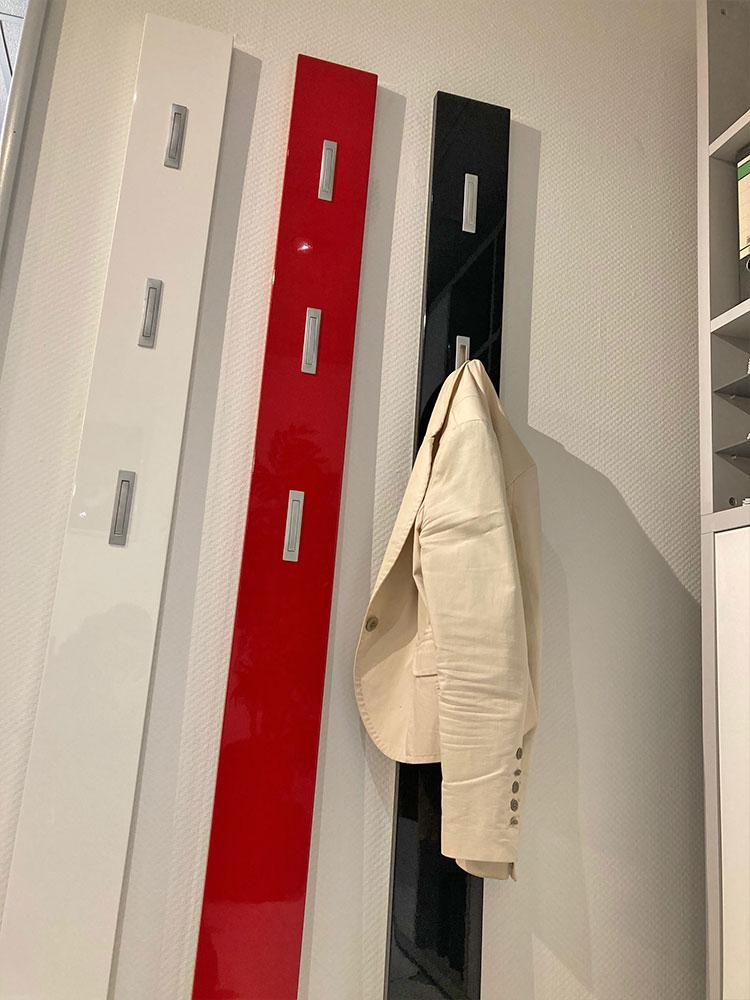 Garderoben Paneel