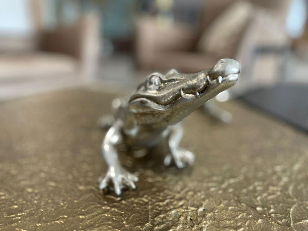 Deko-Figur Krokodil
